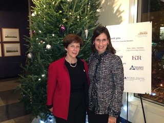 Chairman Hersman and Anne Stubbs, Executive Director, CONEG Research Policy Research Center, WTS Member of the Year Award recipient.