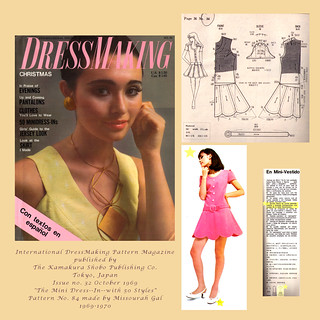 DressMaking Magazine Collage--1969