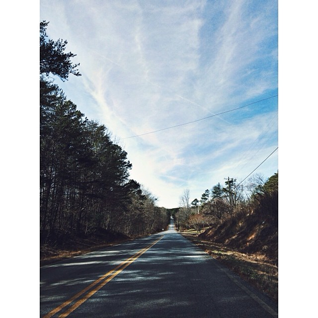 Beautiful #GA #road and #sky.  #pictapgo_app #familyvacation