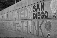 re:Think your artistic side   chalk mural   TEDxSanD…