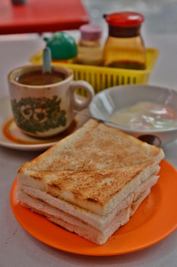 Breakfast @ Kin Wah Kopitiam