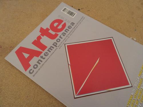 Il tredicesimo numero di Arte Contemporanea by Ylbert Durishti