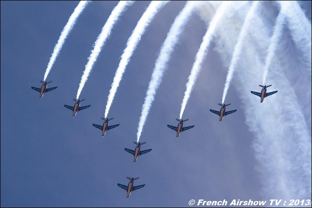 Patrouille de France: 60 ans, Salon BA-701, Meeting Aerien 2013