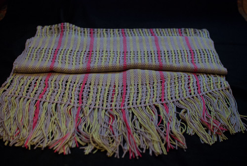 Weaving project 44 finished