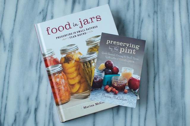 food in jars + preserving by the pint