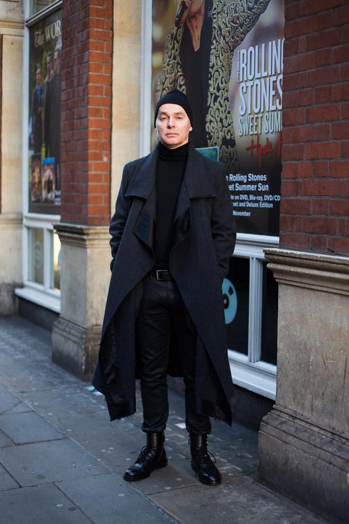 Street Style - Kristian, Shaftesbury Avenue