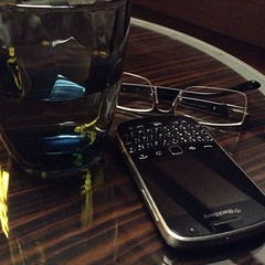 Talking to Myself #blackberry #glass #spectacles