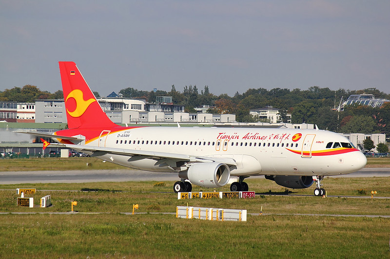 Tianjin Airlines - A320 - D-AXAH (1)