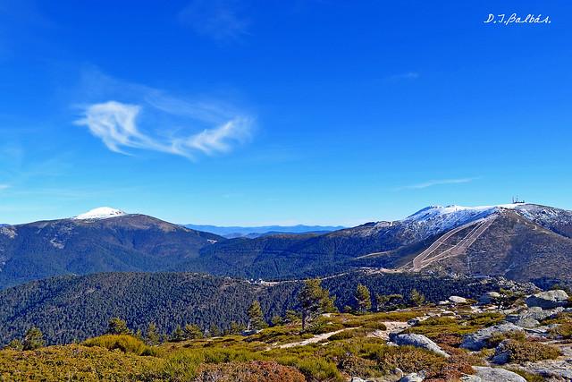 Sierra de Guadarrama desde 7 picos.