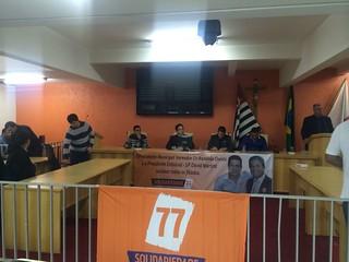 Encontro Regional do Solidariedade em Taboão da Serra