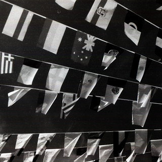 monochrome flags