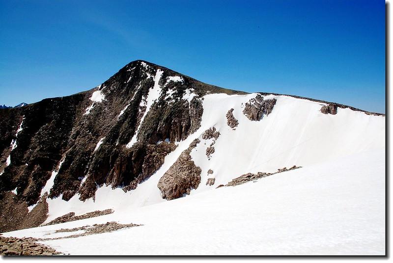 Hallett Peak & Tyndall glacier 1