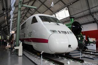 DB BR 410 002, ICE-V (ICExperimental) | [DE] München, Deutsches Verkehrsmuseum | 26.04.2014