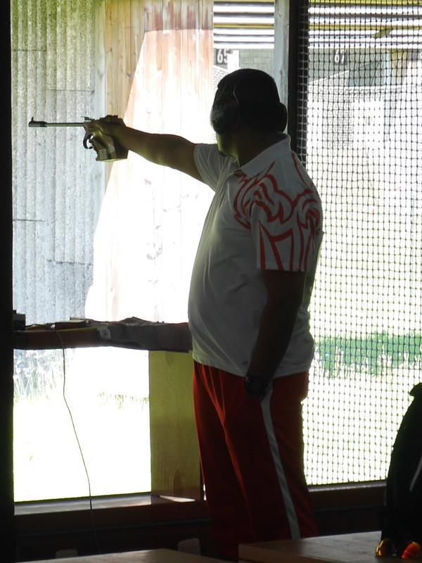 Free Pistol training.