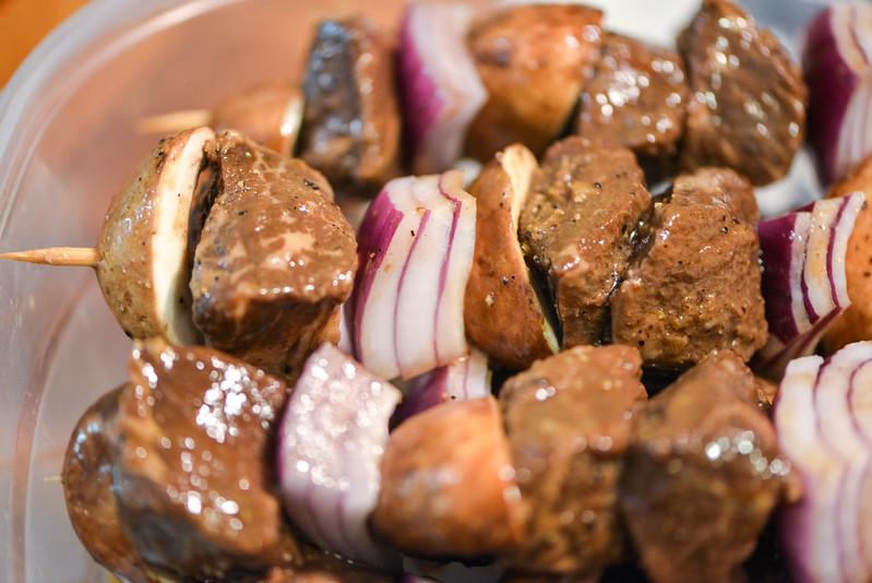 Steakhouse Beef Kebabs