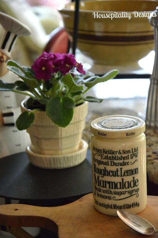 Vintage Dundee Roughcut Lemon Marmalade Jar