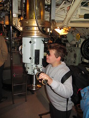 On board HMS Alliance (P417)