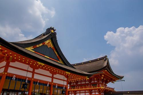 2014/06/15 伏見稲荷大社 お宮参り
