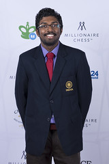 20161006_millionaire_chess_red_carpet_9789 Adhiban Baskaran