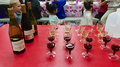 Wine At A Kids' Birthday Party