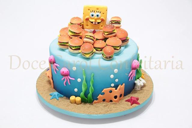 Sponge Bob Cake by Jean Silva of Doce Carol Confeitaria
