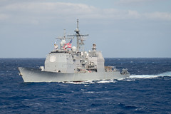 USS Shiloh (CG 67) file photo. (U.S. Navy/MC2 Kevin V. Cunningham)