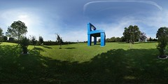 The Big Blue Chair
