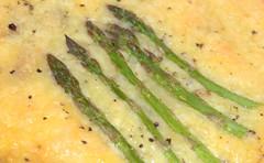 Asparagus in Cheese