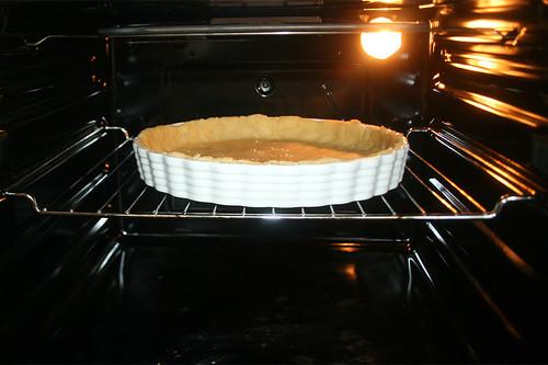 45 - Teig vorbacken / Prebake dough