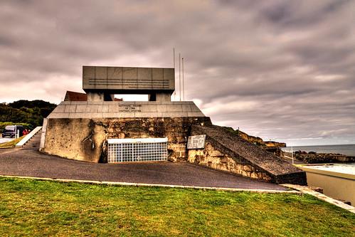 Omaha Beach - German WN72 - Dog Green sector, Vierville-sur-Mer, Normandy