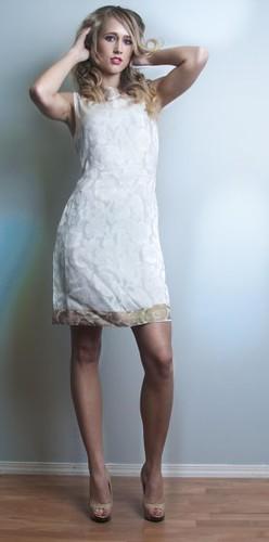 Silk dress Malika