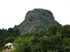 Punta Sant'Andria depuis le hameau de Capu