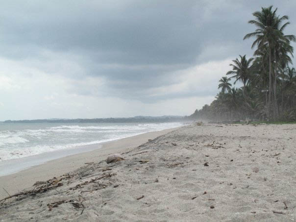 Our 'not-quite-tayrona-park' beach