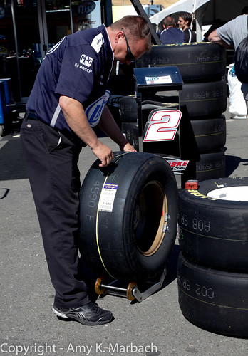 Measuring the tires