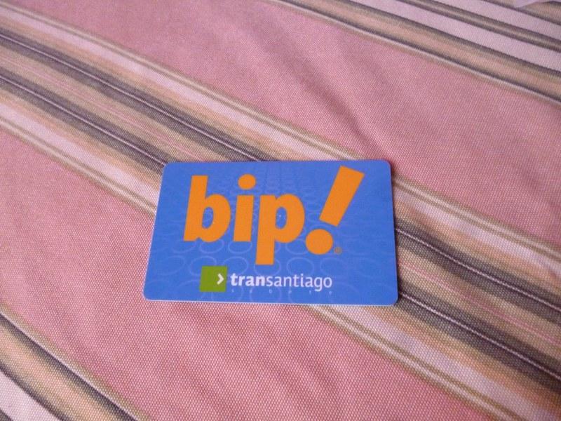 Santiago Bip! card