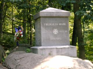 20th Maine monument 1