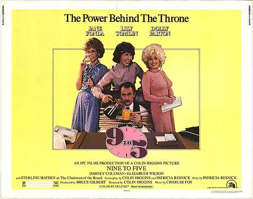 theatrical poster for 9 to 5