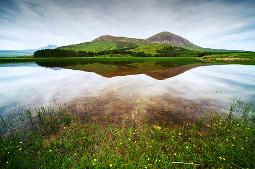 Beinn na Cail reflected in Loch Cill Chriosd