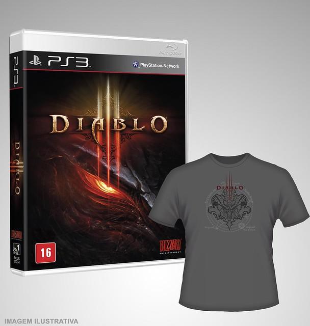 Diablo III - Brinde de Pré-Venda no Brasil