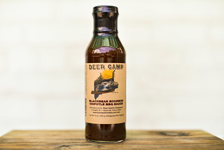 Deer Camp Blackbear Bourbon Chipotle BBQ Sauce