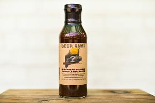 Deer Camp Blackbear Bourbon Chipotle BBQ Sauce