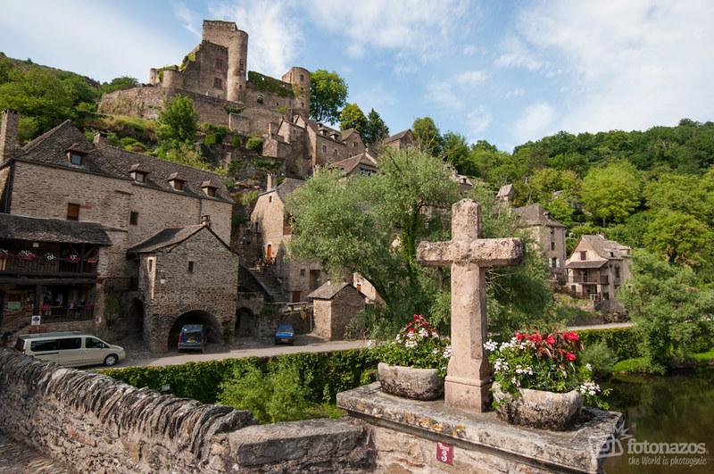 Belcastel, uno de los pueblos más bonitos de Francia