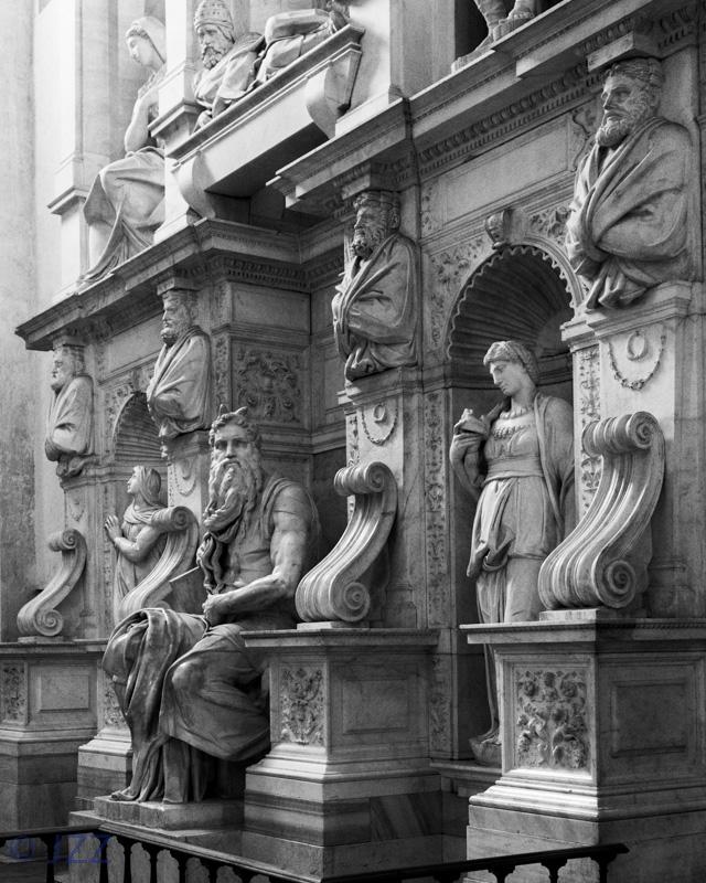 Moses Statue, Michelangelo, San Pietro in Vincoli