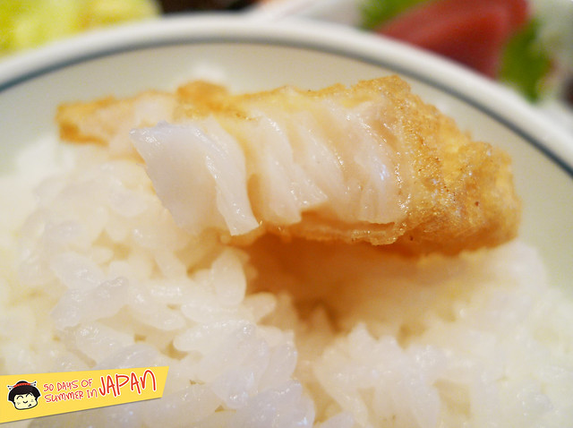Tempura Hisago - fish tempura