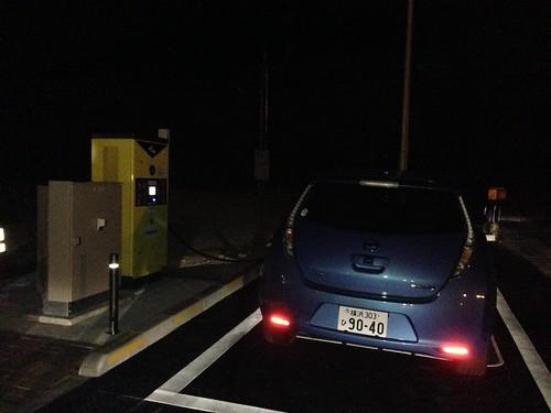 吉備SA(上り) EV急速充電設備