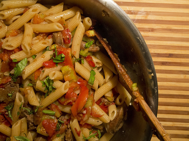 Pasta with Tomatoes: Recipe Tomato pasta