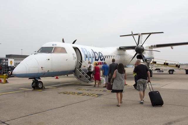 Flybe Dash8-Q400