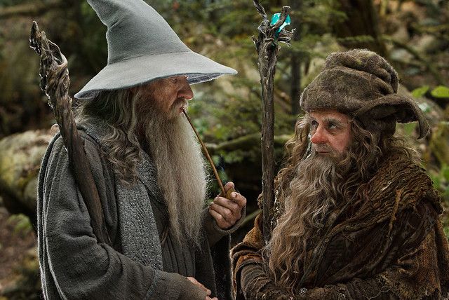 The Hobbit: Gandalf and Radagast