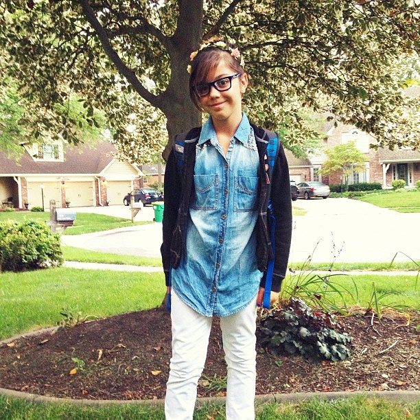 Miss Six, 6th grader.