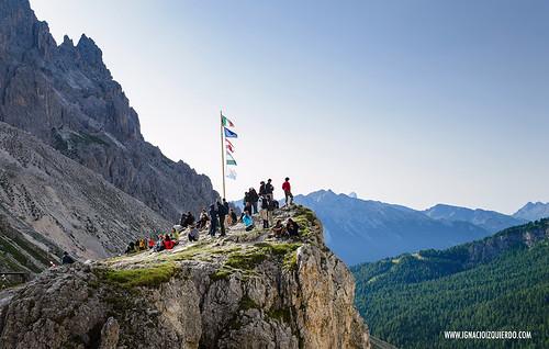 Dolomites - Val di Fassa - Vinicio Capossela at Vajolet 18